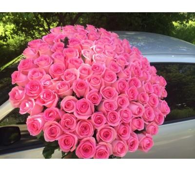 Розовые розы с доставкой в Лабинске и в Лабинском районе
