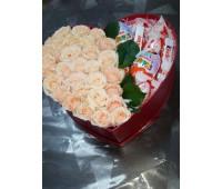 Cердце с розами