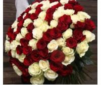 Голландская 101 роза